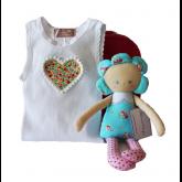 Daisy & Love Hearts