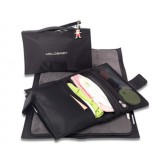 Melobaby Noir Nappy Wallet